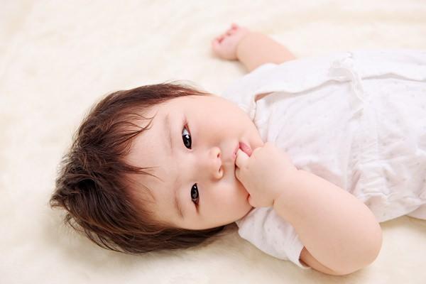 乳児~幼児によく見られる癖